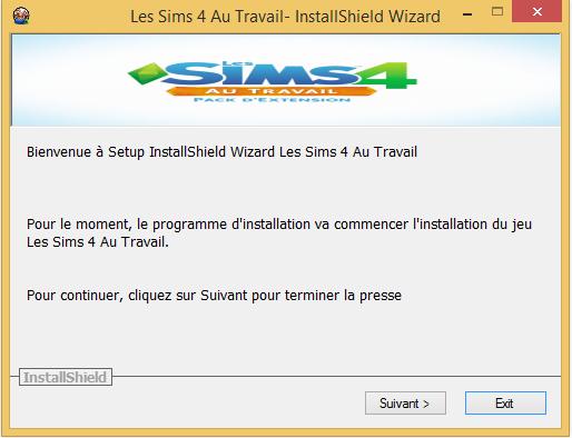 Les Sims 4 Au Travail Télécharger