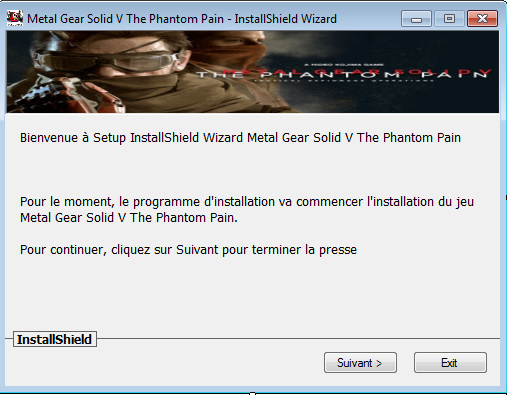 Metal Gear Solid V The Phantom Pain Télécharger