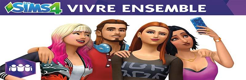 Les Sims 4 Vivre Ensemble Télécharger Jeux DLC Gratuit PC