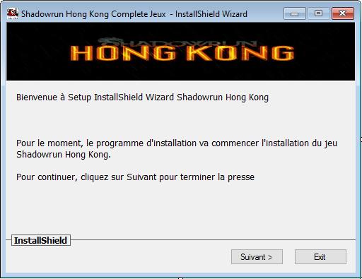 Shadowrun Hong Kong Version complète