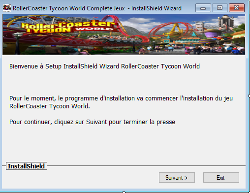 Telecharger RollerCoaster Tycoon World