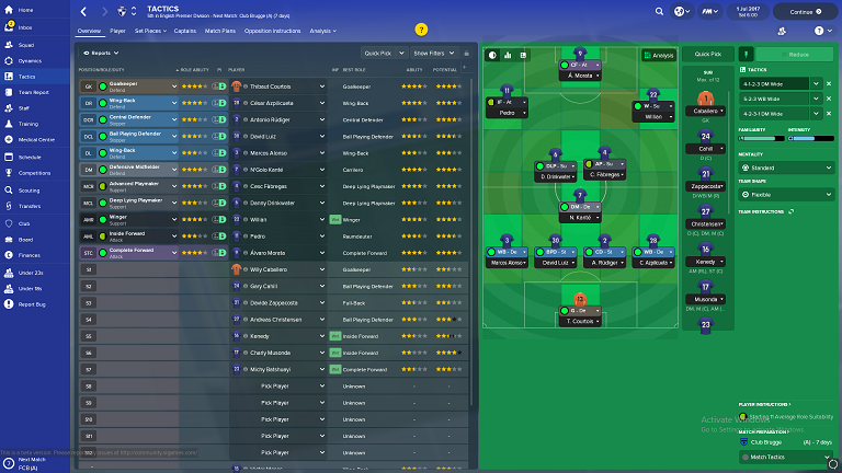 Football Manager 2018 Version Completes PC