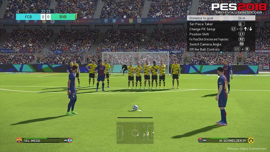 Pro Evolution Soccer 2018 Telecharger