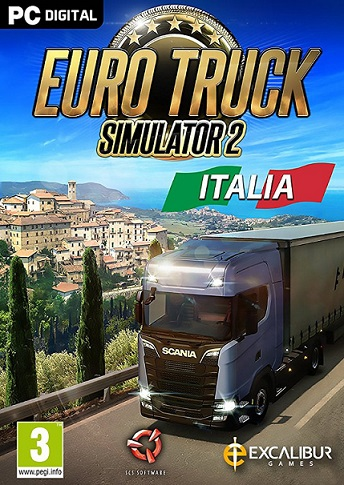 Euro Truck Simulator 2 Italia Telecharger PC - Torrent
