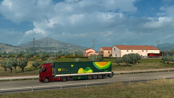 Euro Truck Simulator 2 Italia Telecharger PC