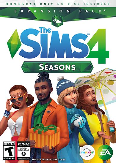 Les Sims 4 Saisons Telecharger PC - Les Sims 4 Saisons Gratuit PC