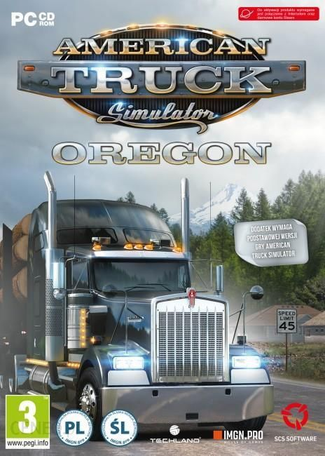 American Truck Simulator Oregon Télécharger PC DLC