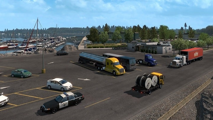 American Truck Simulator Oregon Télécharger PC