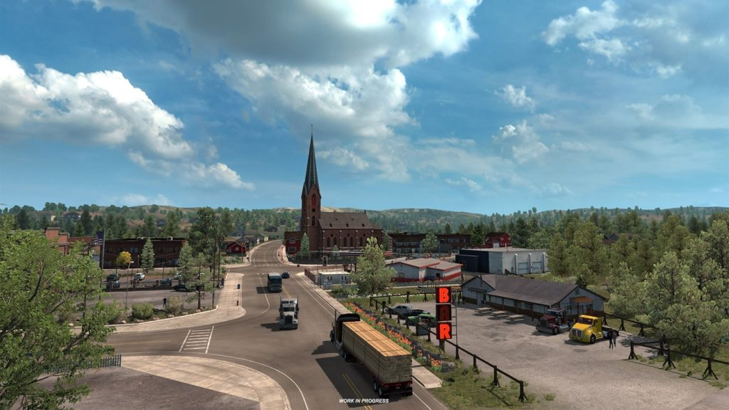American Truck Simulator Oregon Télécharger