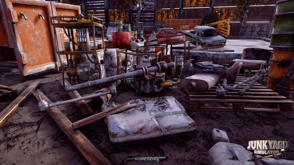 Junkyard Simulator Jeux Telecharger