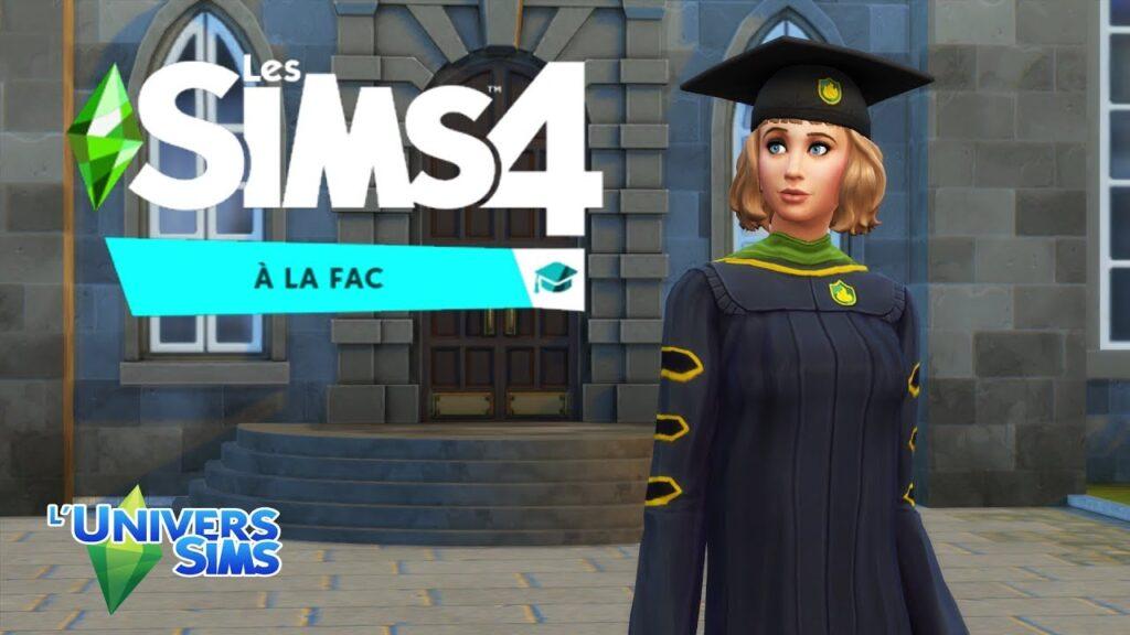 LES SIMS 4 À LA FAC TÉLÉCHARGER DLC - Jeu