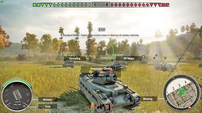World of Tanks Gratuit