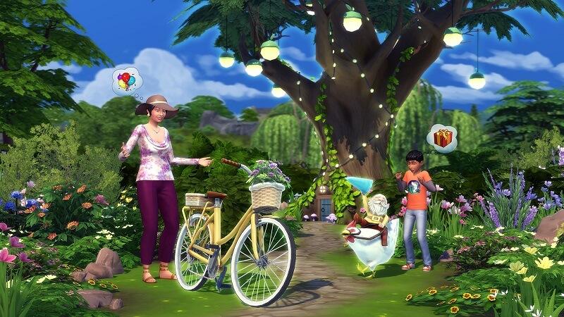 Les Sims 4 Vie à la campagne Télécharger PC