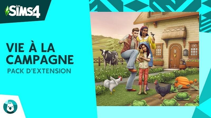 Les Sims 4 Vie à la campagne Télécharger PC Jeu DLC
